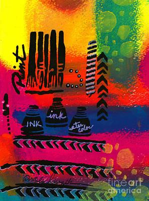 Mixed Media - Art Tools by Angela L Walker