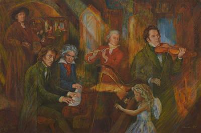 Schubert Painting - Art-united by Anton Wetters
