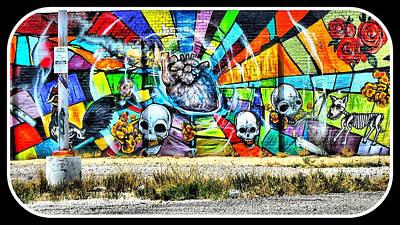 Eric Decker Photograph - Art Wall Tuscon Az   by Eric Decker