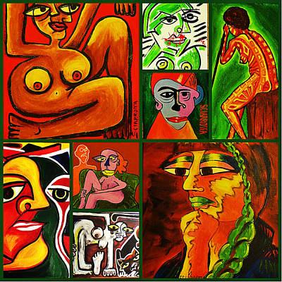 Freud Digital Art - Art World II by Lili Sciarrotta