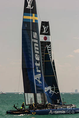 Photograph - Artemis Racing by David Bearden