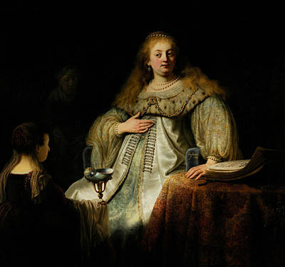 Painting - Artemisia by Rembrandt