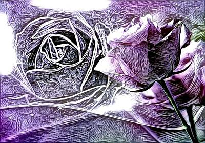 Cabochon Digital Art - Artful Oasis Digital Art 1 by Artful Oasis