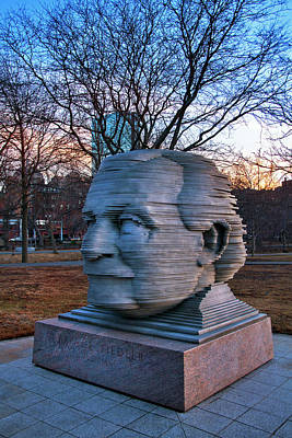 Photograph - Arthur Fiedler Sculpture - Boston by Joann Vitali