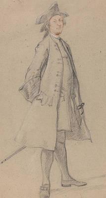 Paul Drawing - Arthur Gore, 1st Earl Of Arran by Paul Sandby