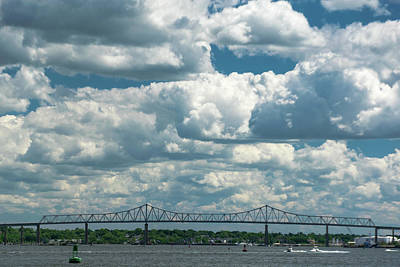 Photograph - Arthur Kill And Outerbridge Crossing by Steven Richman