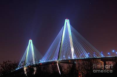 Corky Willis And Associates Atlanta Photograph - Arthur Ravenel Bridge by Corky Willis Atlanta Photography