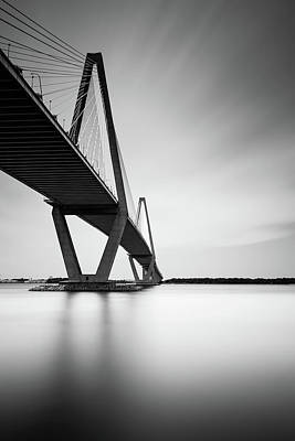 Arthur Ravenel Jr Bridge IIi Art Print by Ivo Kerssemakers