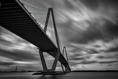 Photograph - Arthur Ravenel Bridge by Rick Berk