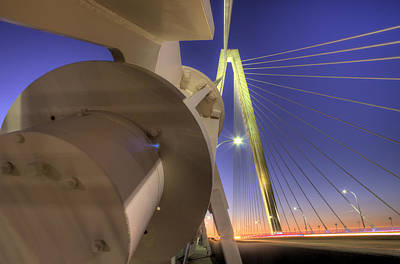 Arthur Ravenel Jr. Bridge Charleston Sc Art Print by Dustin K Ryan