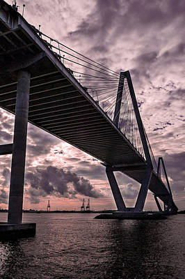 Arthur Ravenel Jr. Bridge Art Print by Drew Castelhano