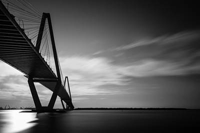 Arthur Ravenel Jr Bridge I Print by Ivo Kerssemakers