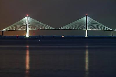 Dustin Photograph - Arthur Ravenel Jr. Bridge II by Dustin K Ryan