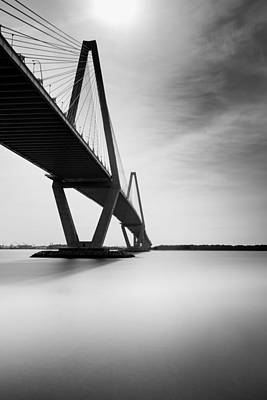 Arthur Ravenel Jr Bridge II Art Print by Ivo Kerssemakers
