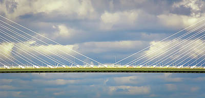 Photograph - Arthur Ravenel Jr. Bridge II by Robert Mitchell