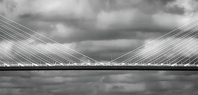 Photograph - Arthur Ravenel Jr. Bridge IIi by Robert Mitchell