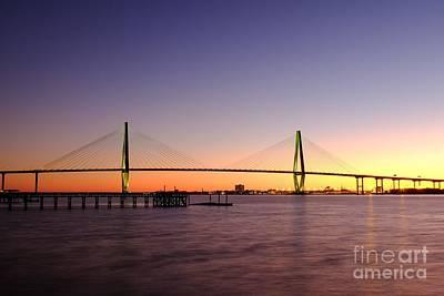 Photograph - Arthur Ravenel Jr. Bridge by Iryna Liveoak