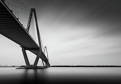 Charleston Wall Art - Photograph - Arthur Ravenel Jr Bridge Iv by Ivo Kerssemakers