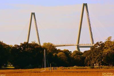 Photograph - Arthur Ravenel Jr. Bridge by Lisa Wooten