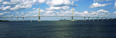 Mount Pleasant Photograph - Arthur Ravenel Jr. Bridge by Panoramic Images