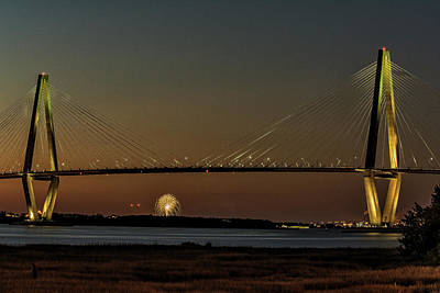 Photograph - Arthur Ravenel Jr. Bridge by Thomas Pettengill