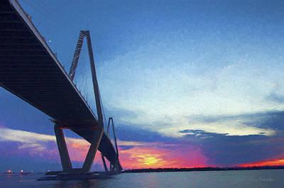 Photograph - Arthur Ravenel Jr. Bridge by Trey Foerster