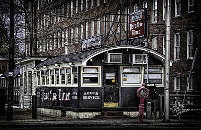Art Print featuring the photograph Arthur's Paradise Diner by Betty Denise
