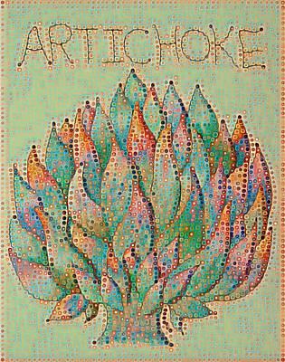 Artichoke Digital Art - Artichoke Digital 1 by Megan Walsh