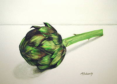 Painting - Artichoke by Marna Edwards Flavell
