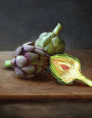 Painting - Artichokes by Robert Papp
