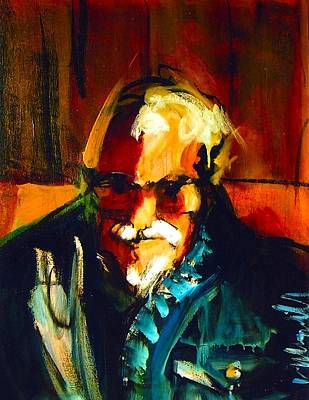 Painting - Artie by Les Leffingwell