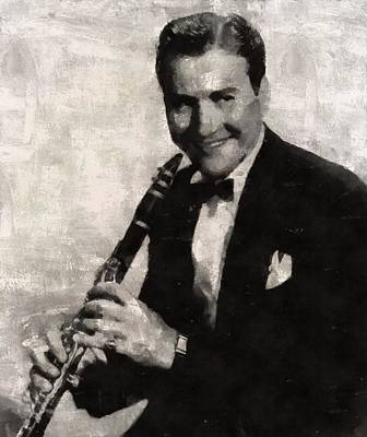 Musicians Royalty Free Images - Artie Shaw, Musician Royalty-Free Image by Esoterica Art Agency