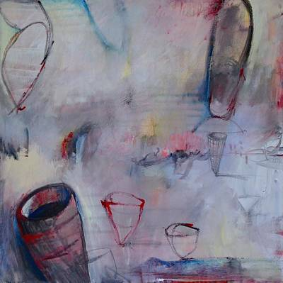 Painting - Artifacts Speak No Language Series #1 by Rosemary Healy