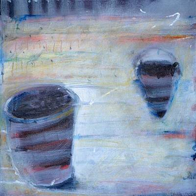 Painting - Artifacts Speak No Language Series #5 by Rosemary Healy