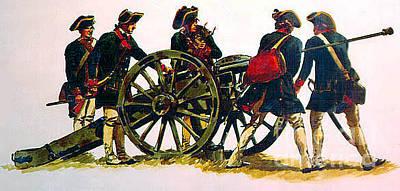 Artillery Crew Original by Frederick Holiday