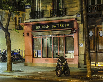 Photograph - Artisan Patissier Montmartre Paris by Sally Ross