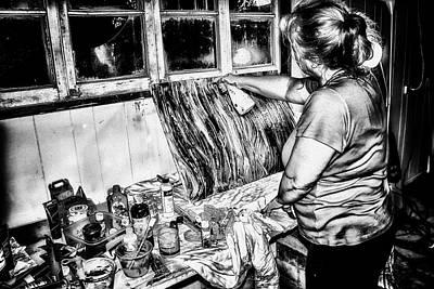 Photograph - Artist At Work by Brett Christensen
