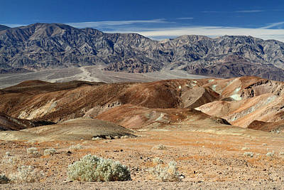 Artist Drive In Death Valley National Park Art Print by Pierre Leclerc Photography