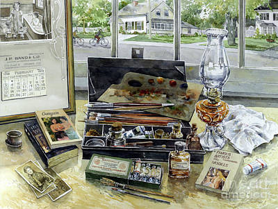 Regard Painting - Artist Heritage by William Band