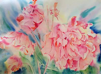 Painting - Peony Dreams by Liana Yarckin