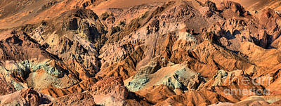 Photograph - Artist Palette At Death Valley by Adam Jewell