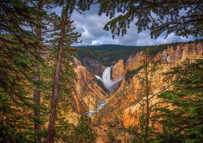 Yellowstone Wall Art - Photograph - Artist Point Afternoon by Darren White