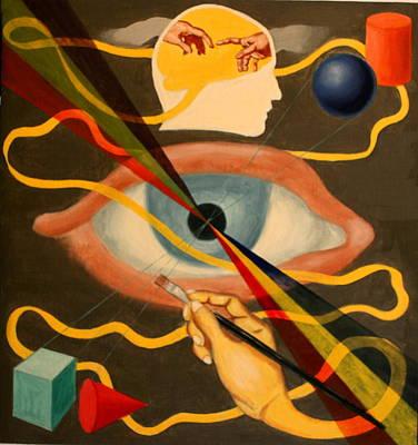 Painting - Artist by Rosencruz  Sumera