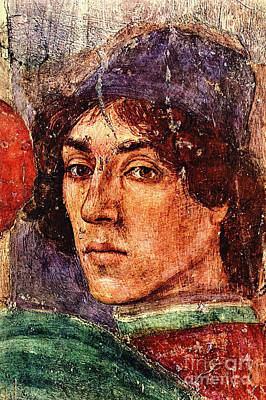 Photograph - Artist Self Portrait 1490 by Padre Art