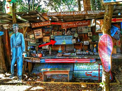Photograph - Artist Shop In Bluffton, South Carolina by Patricia Greer