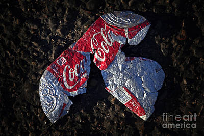 Photograph - Artistic Coke Litter by John Stephens