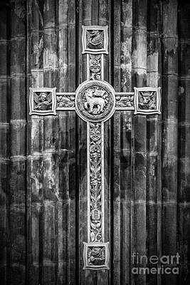 Photograph - Artistic Cross Monochromatic by Antony McAulay