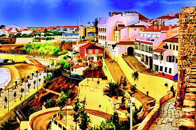 Digital Art - Artistic Faro Portugal by Rick Bragan
