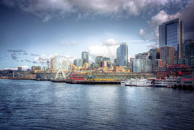 Photograph - Artistic In Seattle by Spencer McDonald
