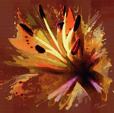Photograph - Artistic Lily by Judi Quelland